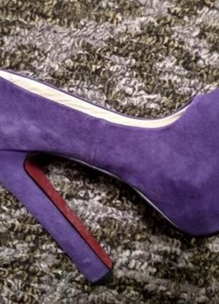 Очень качественные кожаные туфли
