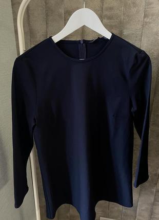 Темно синяя кофта -туника zara
