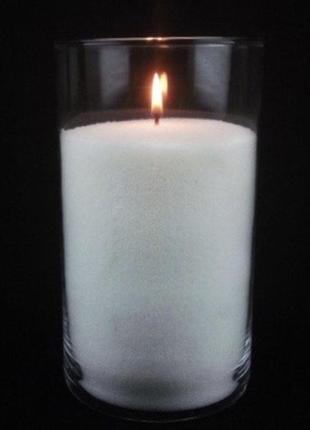 Декоративная насыпная свеча
