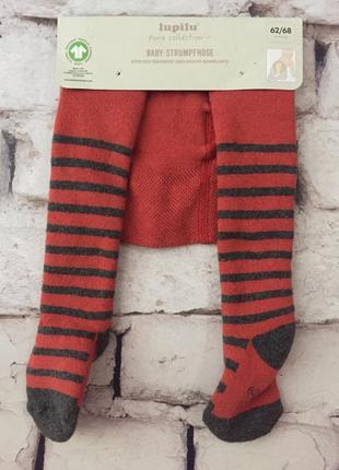 Детские колготки махровые lupilu рост 62 68