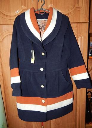 Шикарне нове пальто на 46-48рр