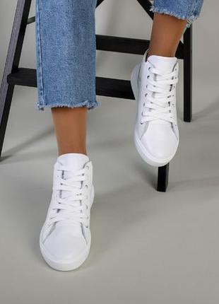 Женские демисезонные ботинки из натуральной кожи 6709-1д