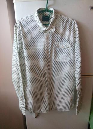 Шикарная  мужская рубашка от бренда «scotch &soda» оригинал