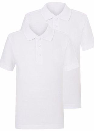 Школьные футболки поло george