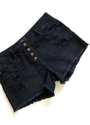 Качественные стильные черные шорты