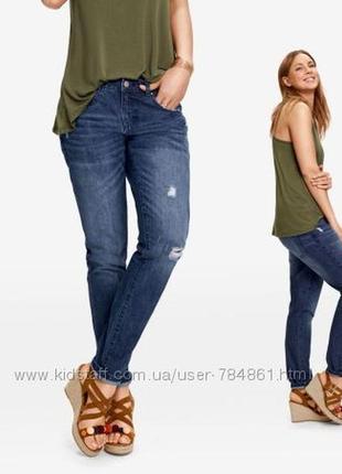 Женские джинсы girlfriend esmara от heidi klum, евро 40 (м)