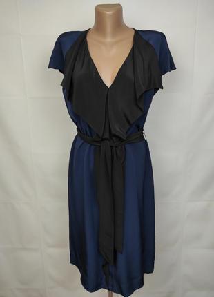 Платье легкое красивое оригинальное jaeger uk 10/38/s