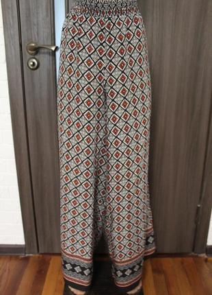Новые широкие брюки вискоза george размер 4xl