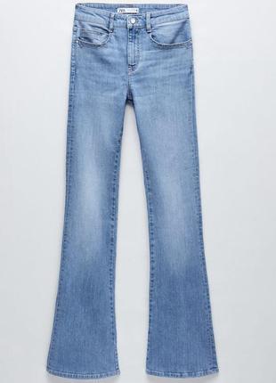 Новые джинсы клёш zara