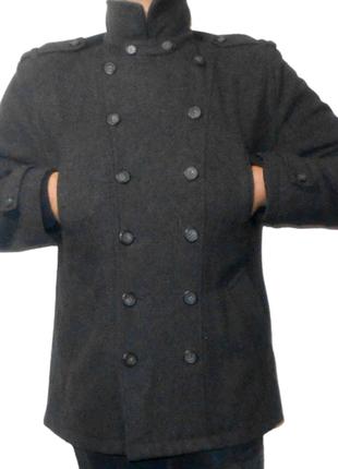 Милитари полу пальто.topman