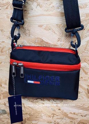 😍sale❤️новая шикарная качественная сумка клатч tommy ♥️ / сумка через плечо / кроссбоди