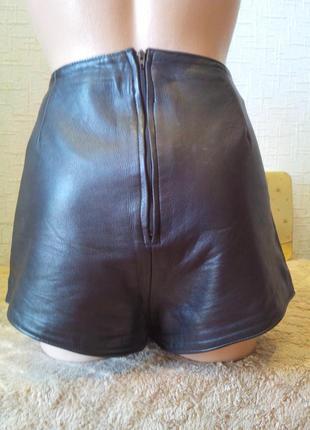 100% кожаные шорты (кожа ягненка) англия.