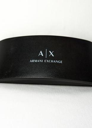 Брендовий футляр для окулярів armani exchange