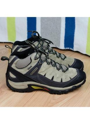 Походные трекинговые ботинки salomon exit peak mid 2 gtx оригинал 42-43р. 27,5 см.