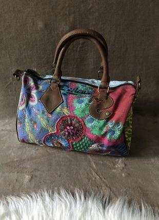 Женская дизайнерская сумка desigual