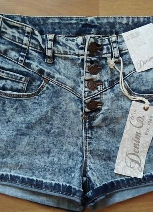 Нові джинсрві шорти