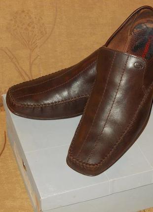 Туфли мокасины кожаные bose london р .29