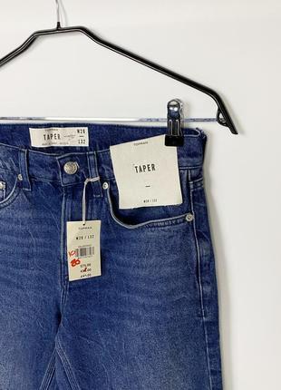 Topman taper tapered джинсы