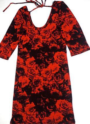 Платье с принтом от new look
