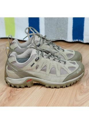 Походные трекинговые кроссовки salomon gtx gore-tex 37р. 23,5 см.