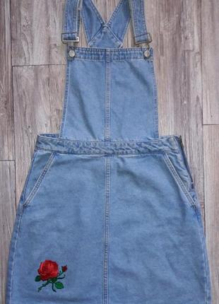 Классный джинсовый сарафан