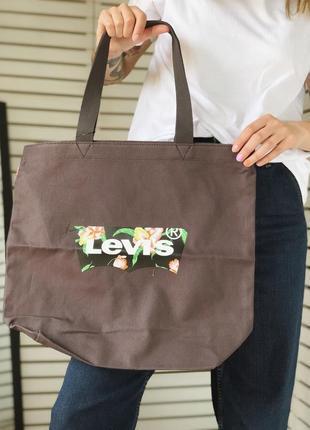 Сумка шоппер levi's новая