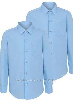 Рубашка george slim fit размер 6-7
