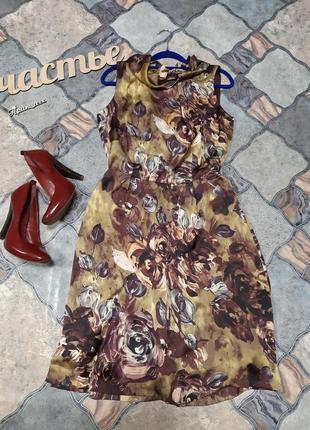 Легкое платье,размер l