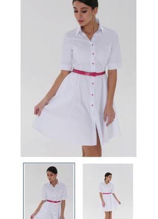 Медицинский халат (платье)  inwhite