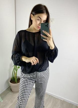 Блуза на запах topshop