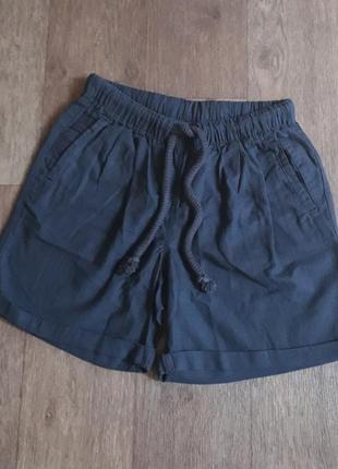 Женские льняные шорты лен хлопок esmara германия