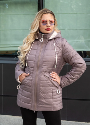 Размер 50-60 стильная женская курточка