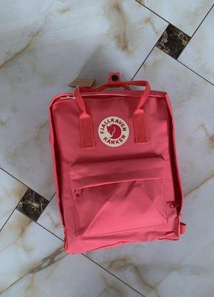 Рюкзак fjallraven kanken pink купить фьялравен канкен ярко розовый