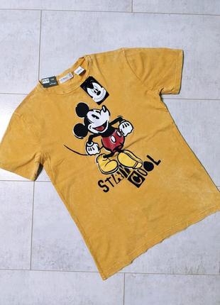 Хлопковая футболка на мальчика с микки маусом,дисней