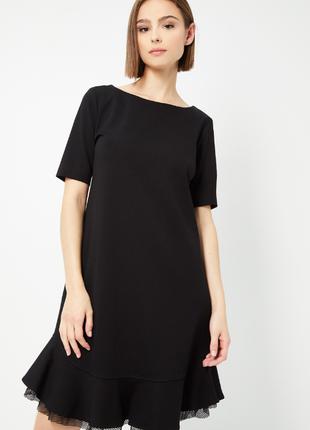 Новое идеальное платье twin-set by simona barbieri чёрное стильное