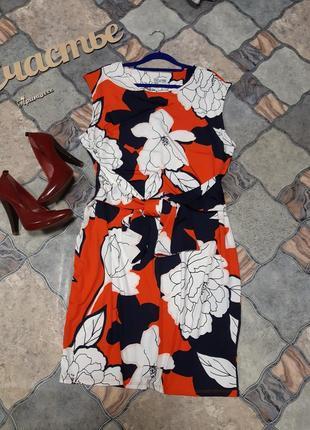 Стильное платье, размер 3xl