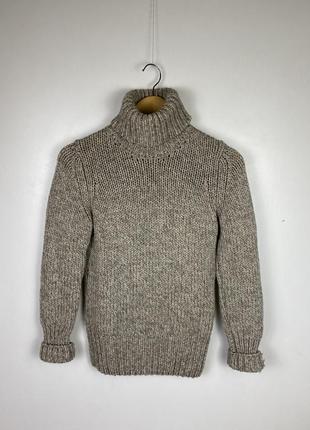 Вязанная шерстяная кофта, свитер zanone