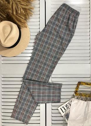 🌿 стильные брюки в клетку от primark