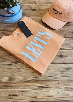 Шикарная футболка levis 😻😻 оригинал!