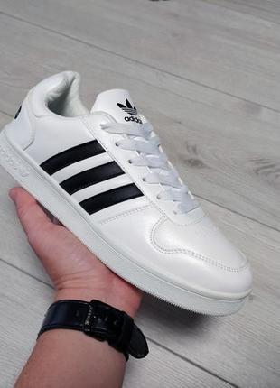 🔥мужские кроссовки adidas la marque белые🔥