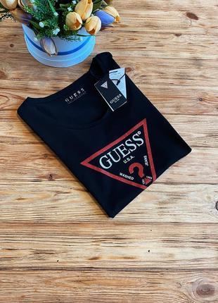 Красивенные футболочки guess оригинал футболка guess