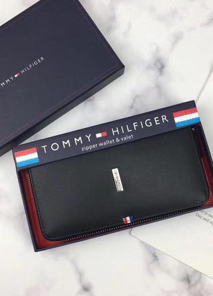 Мужской кожаный кошелек tommy hilfiger наложенный платёж купить аксессуар