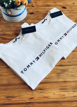 Базовые футболки tommy hilfiger оригинал