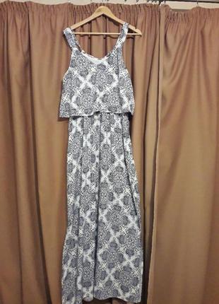 Красивенное нежное нарядное летнее платье
