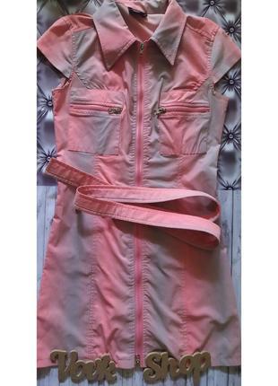 Платье плаття на молнии с замком joymiss exclusive брендовое с поясом
