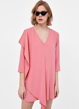 Шикарное очень стильное и красивое платье от zara рр 10 наш 44