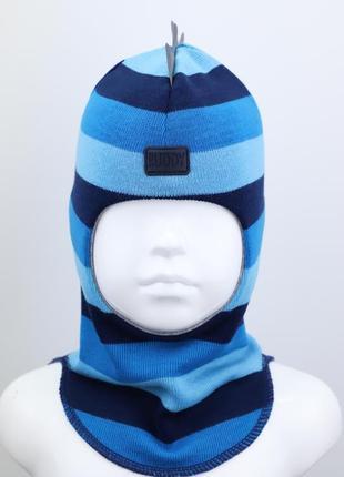 Шапка шлем руди дино -светоотражатель