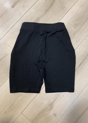 Чёрные спортивные шорты