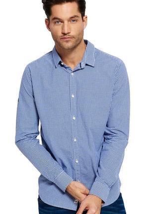 Крутая рубашка в клетку superdry premium shirt modern classic made in mauritius