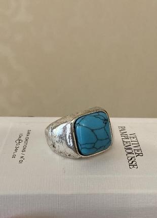 Массивное кольцо bershka бижутерия винтажная кольцо с камнем